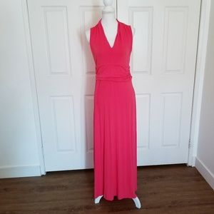 Vince Camuto Coral Free flowing Maxi Dress